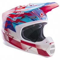 EVS - T5 Speedway шлем, красно-синий