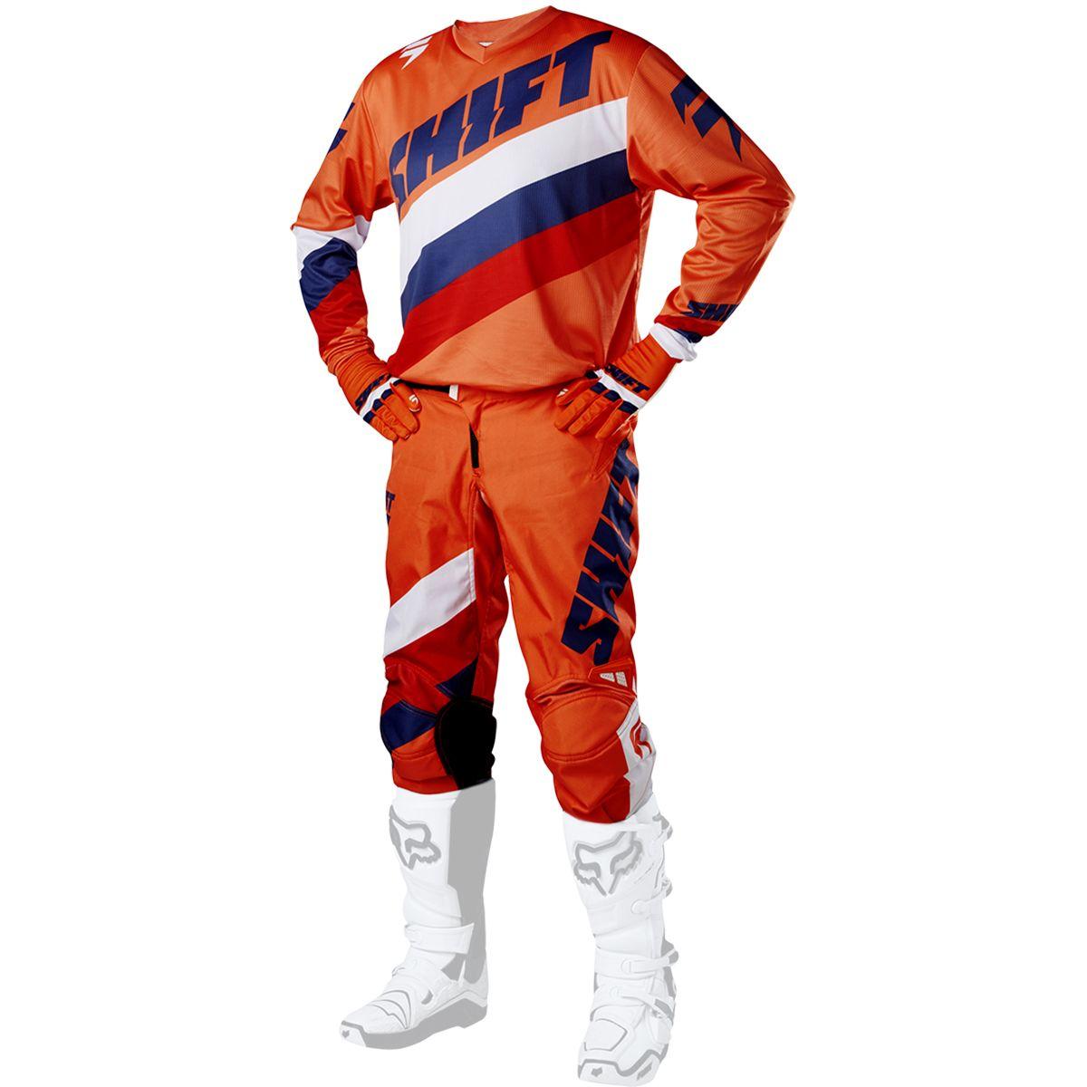 Shift - 2017 WHIT3 Tarmac комплект штаны и джерси, оранжевые