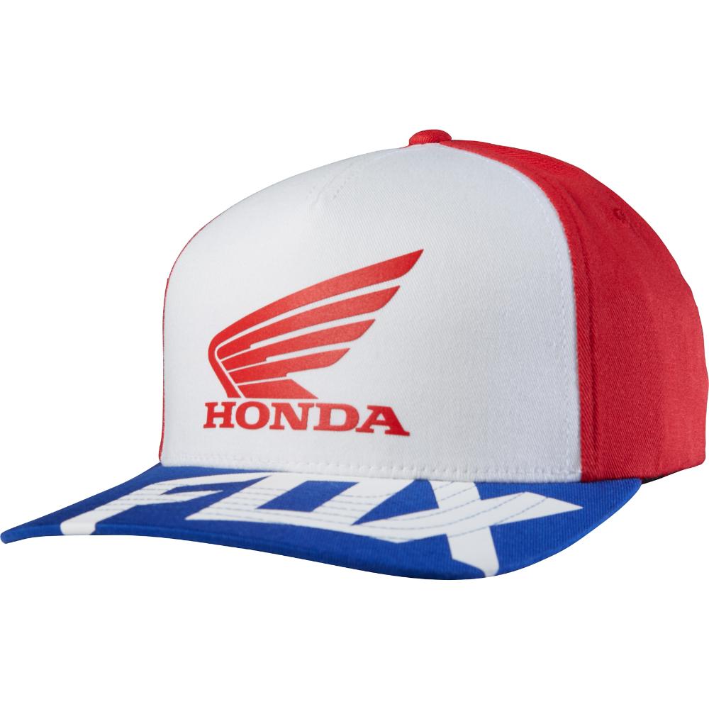 Fox - 2017 Honda Basic FF бейсболка, красная