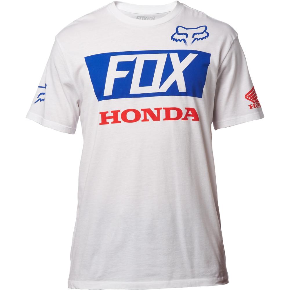 Fox - 2017 Honda Basic Standard Tee футболка, белая