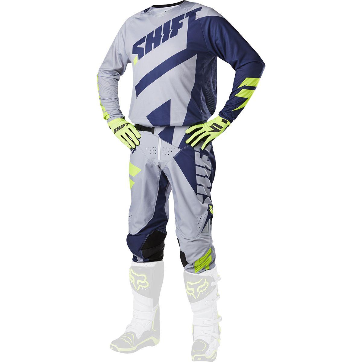 Shift - 2017 3LACK Mainline комплект штаны и джерси, серые