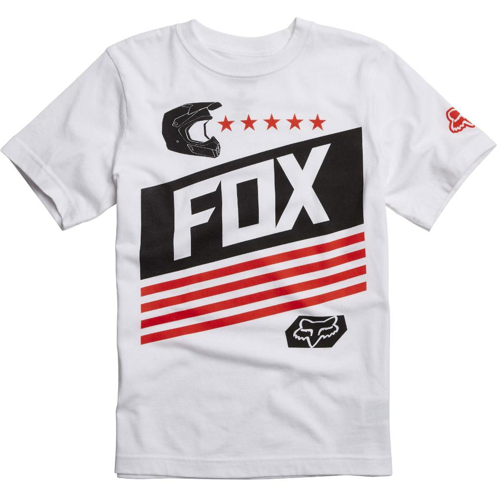 Fox - Youth Ozwego SS Tee Optic футболка подростковая, белая