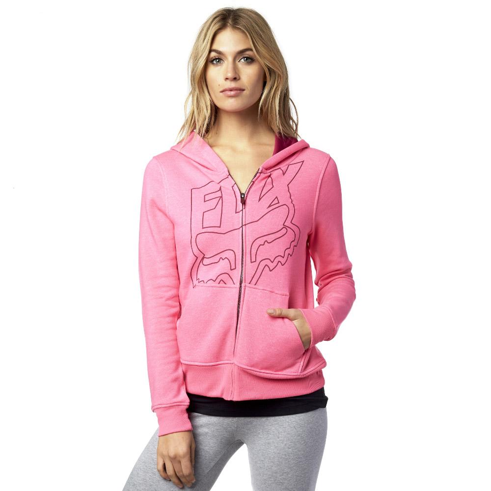 Fox - Specific Zip Hoody Neon толстовка женская, розовая