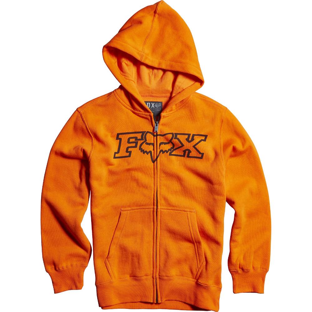 Fox - Youth Legacy Zip Fleece толстовка подростковая, оранжевая
