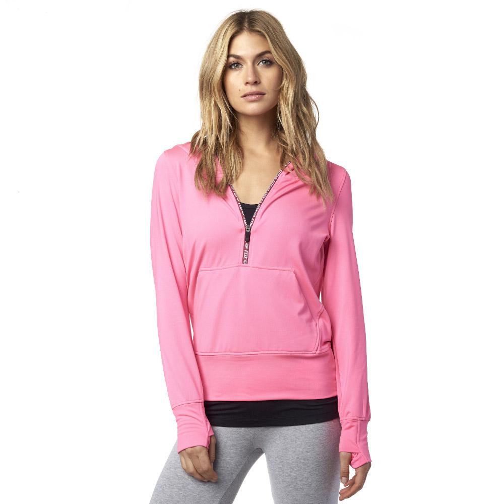 Fox - Zeal Po Hoody Neon толстовка женская, розовая