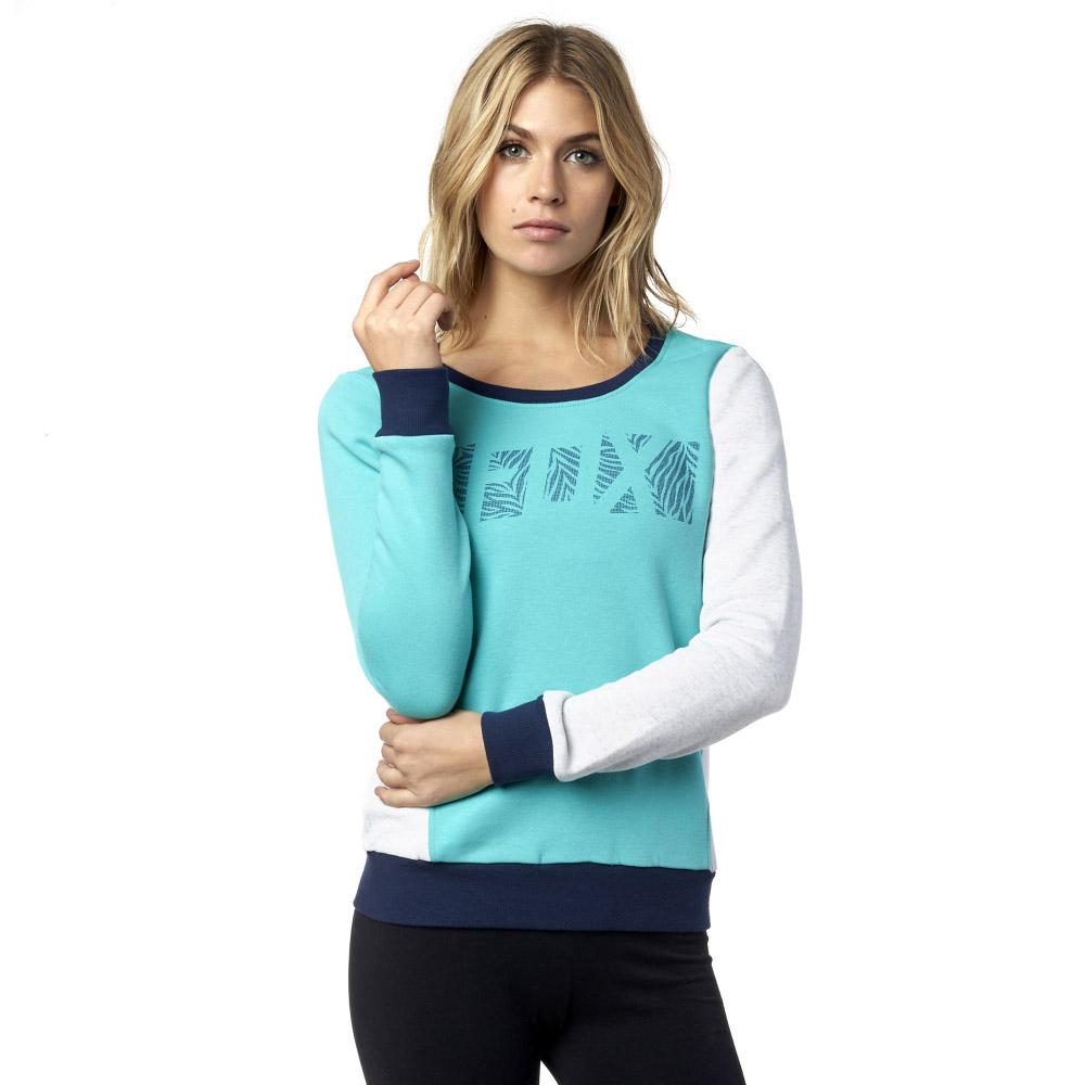 Fox - Libra Crew Splash пуловер флисовый женский, белый