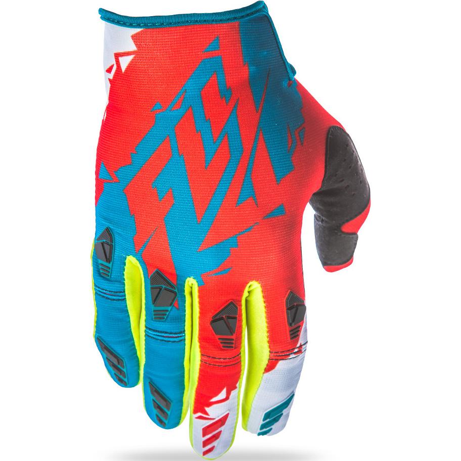 FLY - 2017 Kinetic перчатки подростковые, зелено-красные