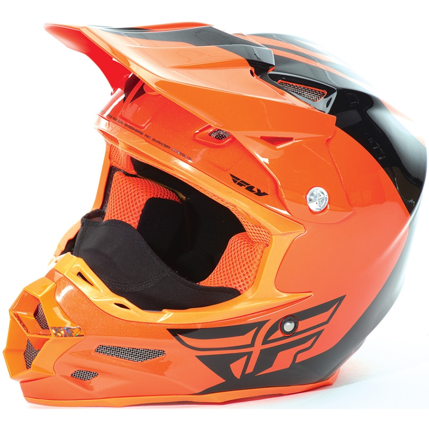 FLY - 2017 F2 Carbon Pure Cold Weather шлем, оранжево-черный