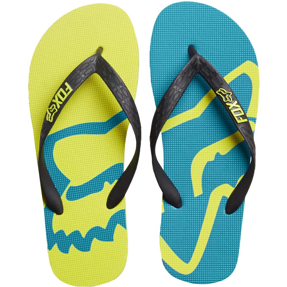 Fox - 2017 Beached Flip Flop Flow шлепанцы, желтые