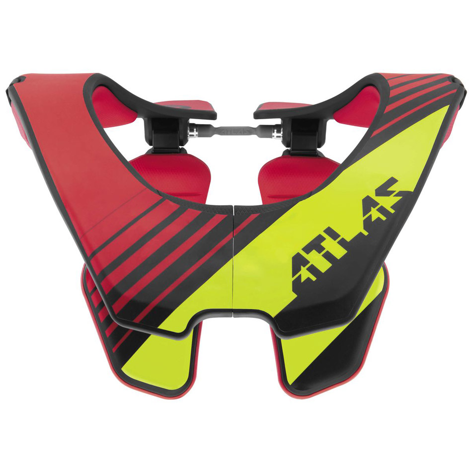 Atlas - Air Radioactive защита шеи, красно-черно-желтая
