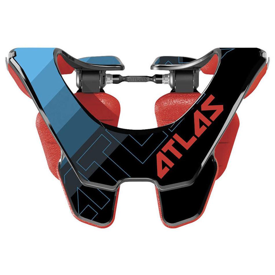 Atlas - 2017 Prodigy Abyss Jr защита шеи подростковая (74-84 см), черно-синяя