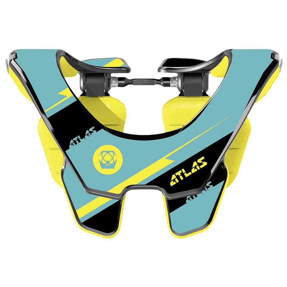 Atlas - 2017 Prodigy Bolt Jr защита шеи подростковая (74-84 см), черно-желтая