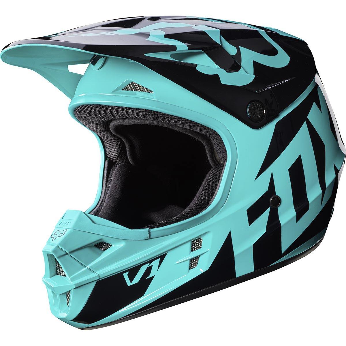 Fox - 2017 V1 Race шлем, зеленый