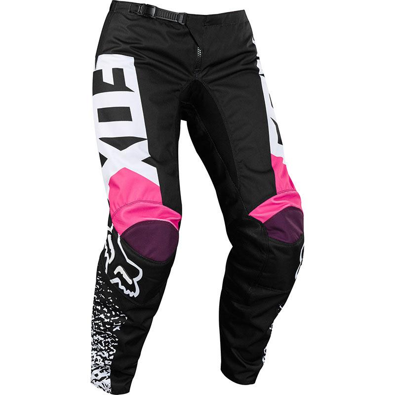Fox - 2018 180 Womens Black/Pink штаны женские, черно-розовые