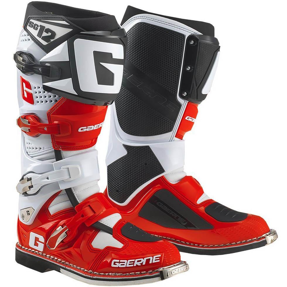 Gaerne - SG-12 Limited Edition мотоботы, бело-красно-черные